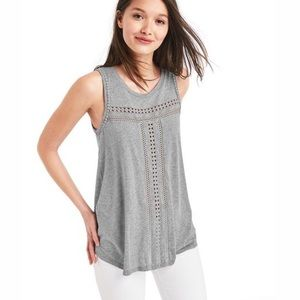 GAP~Embroidered Tank Top~L
